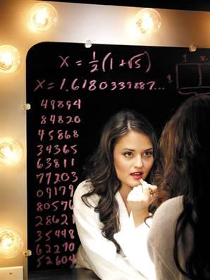 Celebrity mathlete Danica McKellar
