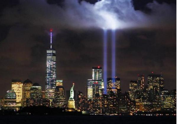 NYC twin towers 2014 Gary Hershorn