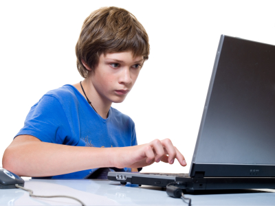 teenager blogging