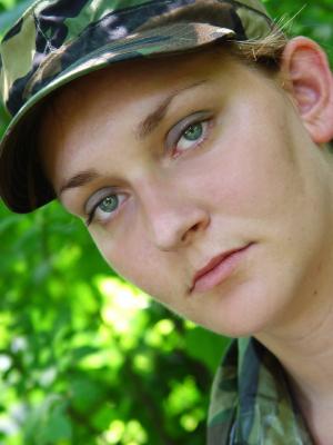 female-military