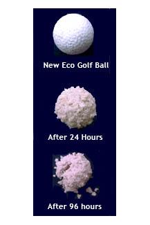 eco golf balls