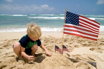 flag-child