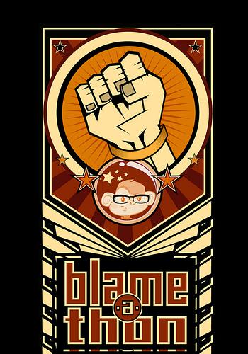 BlameAThon logo