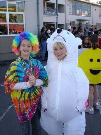 KB & Suzy halloween