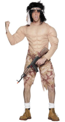 rambo costume  sc 1 st  Shaping Youth & Packaging Boyhood: What About BOYS Halloween Costumes? - Shaping Youth