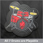 drum kit shirt