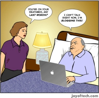 deathbed blogger