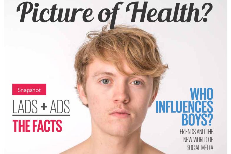 boys body image 2016 uk