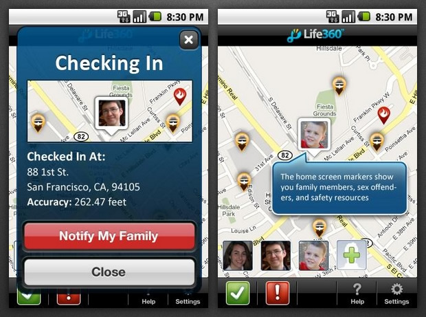 Life 360 Family Locator Apps Mapping The Shades Of Grey