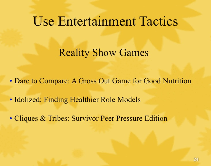 Copy (2) of reality show games