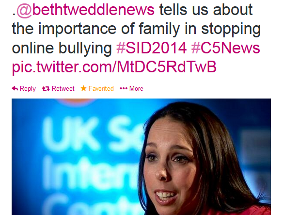 bethtweddle twitter safer internet day