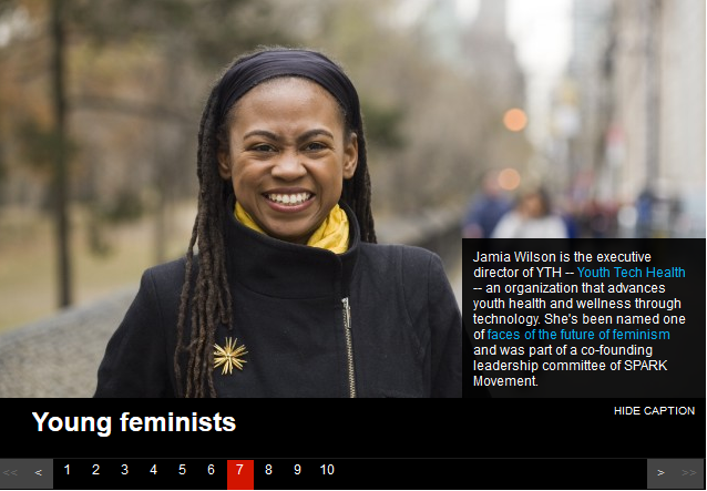 jamia top ten feminists cnn