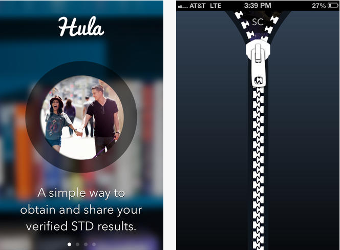 hula app screenshot