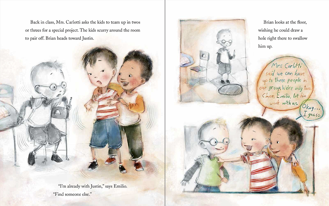 invisible boy lunch scene credit two writing teachers