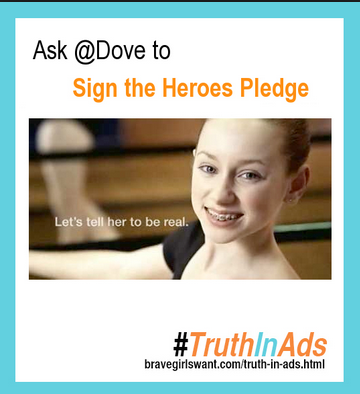 dove heroes pledge