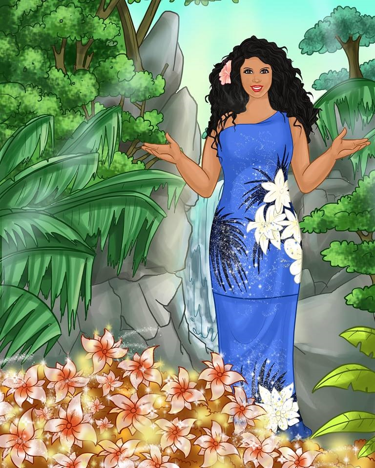 gpa Leilani in the Healing Forest