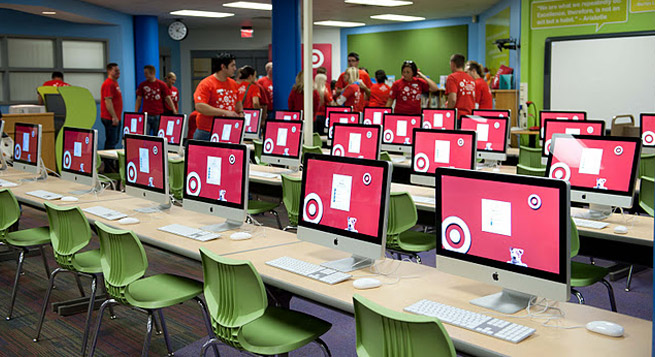 target library makeover