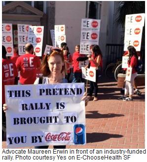 soda faux rally