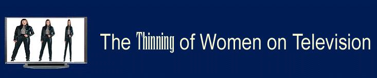 thinning of women on tv