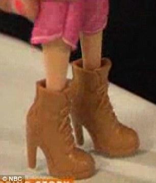 barbie hiking boots