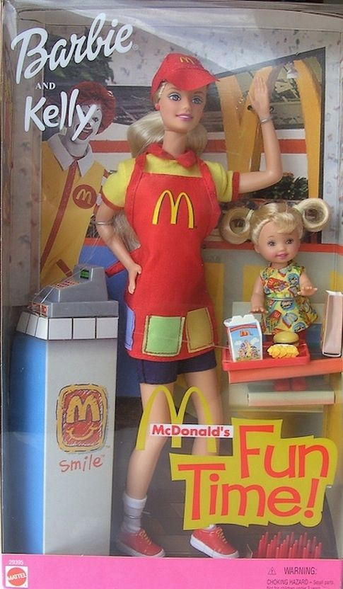 burger flipping barbie