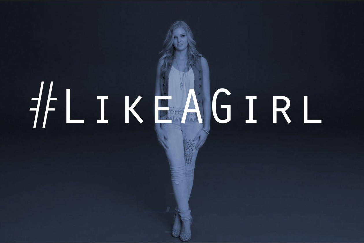 LikeAGirl hashtag