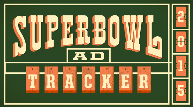 super bowl 2015 ad tracker
