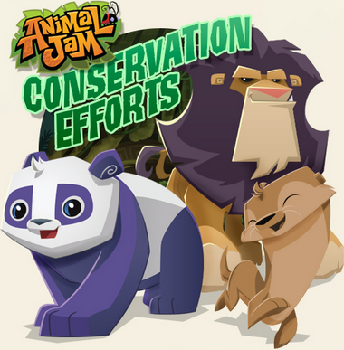 animal jam conservation