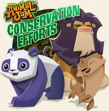 animal jam conservation