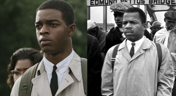 john lewis- selma movie and IRL