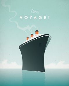 cruise ship pinterest art poster