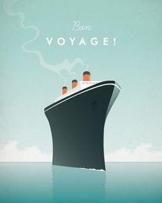 cruise ship pinterest art poster