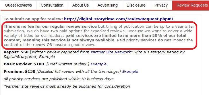 digital storytime fees