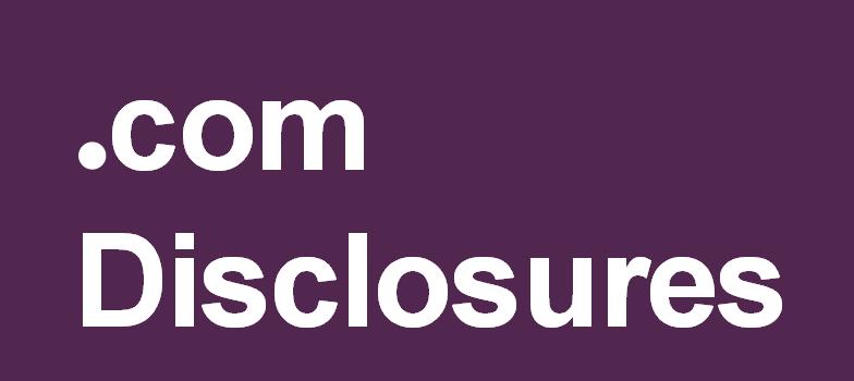ftc .com disclosures