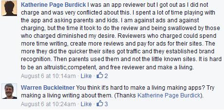 kids apps screenshot dust or magic dialogue