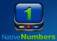 native numbers icon