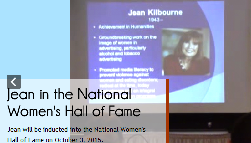 jean kilbourne hall of fame
