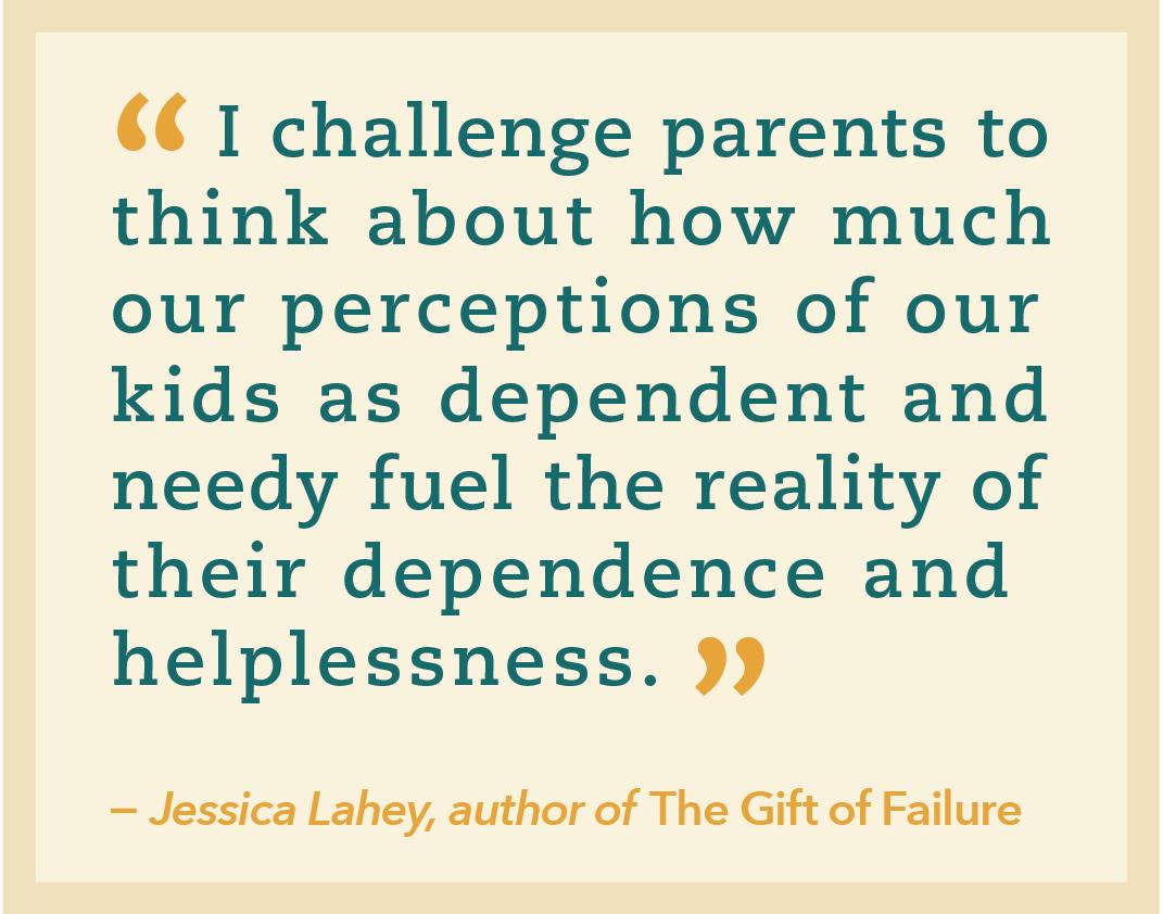 Jessica Lahey quote